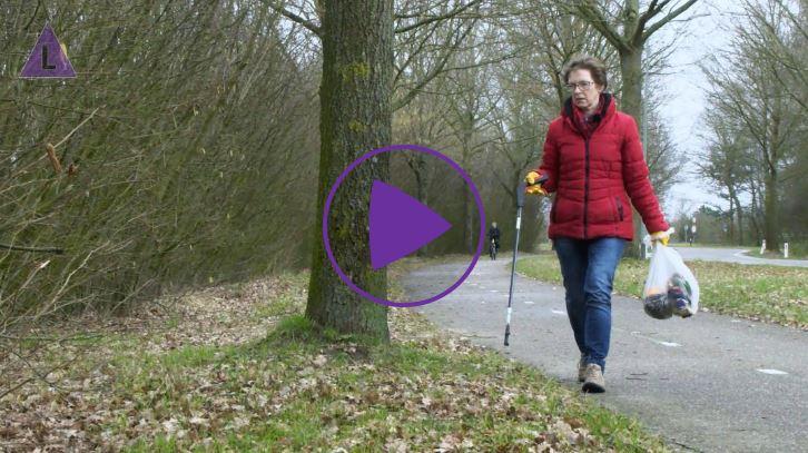 Bermjutter Tilly Custers uit Heel - bekijk het videofragment
