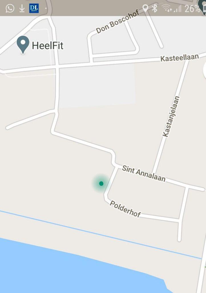 Locatie Mariakapelletje Polderhof