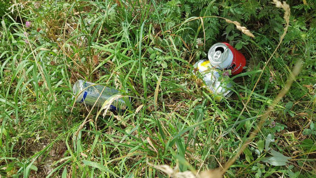 Hieël Hael: Afval in de natuur