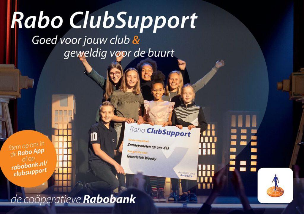 Hieël Hael doet mee met Rabo ClubSupport