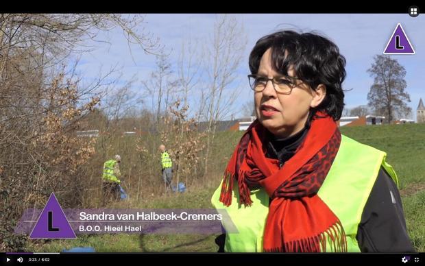 Bekijk het verslag van de zwerfafval opruimactie door inwoners van Heel - een project van Hieël Hael